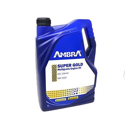 OLIO MOTORE SUPER GOLD 15w40 5LT ARBOR AMBRA PETRONAS TRATTORI MACCHINE AGRICOLE
