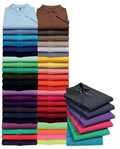 Asquith Fox Herren Poloshirt Small Purple Heather