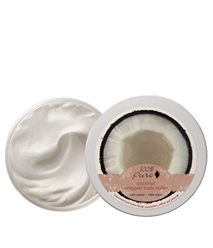100% Pure - Coconut Whipped Body Butter -