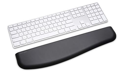 Kensington K52800WW ErgoSoft Handgelenkauflage (für flache Tastaturen, 445 x 101 x 10 mm) schwarz