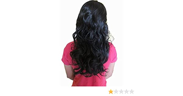 4cb109ae84a WigOWig Women's Long Wavy Beautiful Hair Wig (Washable & heat Resistant hair  fiber): Amazon.in: Beauty