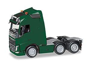 Herpa 305792-005 Volvo FH GL - Tractor con Soporte para lámpara y Dos Luces giratorias, Color Verde