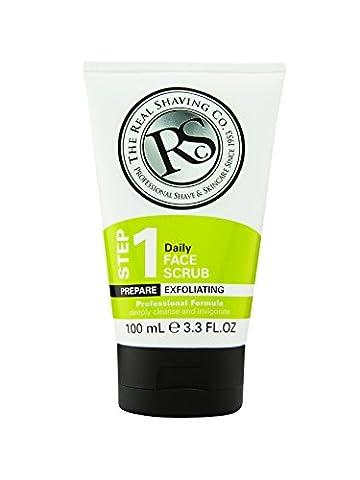 The Real Shaving Company Step 1 Daily Face Scrub 100 ml