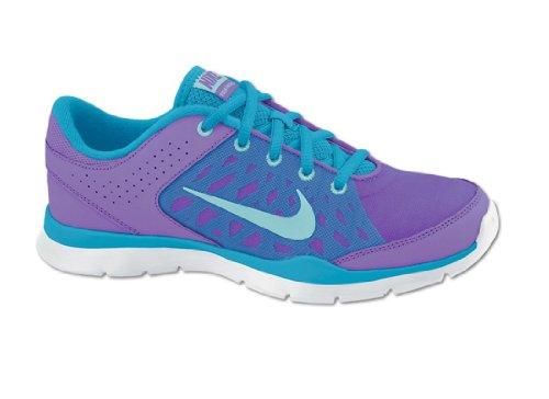 Nike  NIKE FLEX Trainer 3 580374 502 atomic violet/glcr ice/vvd blue, Chaussures de sport d'extérieur pour femme Gris - lila-blau