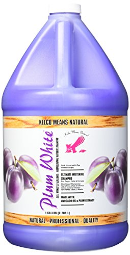 Kelco 50:1 Plum White Shampoo Gallon