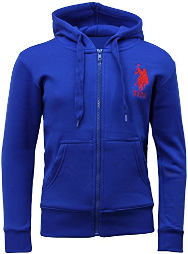 Kids US Polo Assn Hooded Zip Top | USPA Zip Hoody