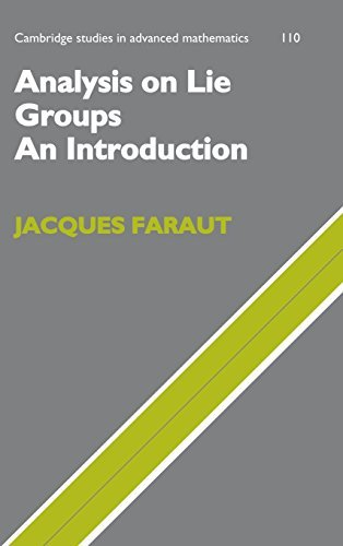 Analysis on Lie Groups: An Introduction (Cambridge Studies in Advanced Mathematics) by Jacques Faraut (2008-05-22)