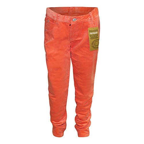 CFL-Mdchen-Hose-Feincord-Orange-Stretch