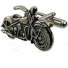 Gemelos de moto Harley Davidson cuadro personalizado grabado opcional
