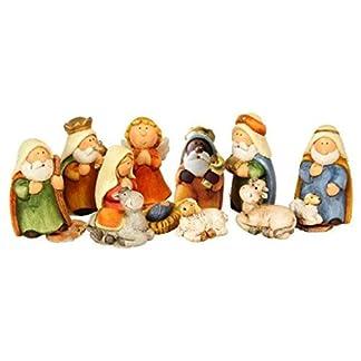 Timtina Juego de figuras de belén (11 piezas)