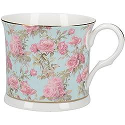 Creative Tops Rose Queen - Taza de porcelana fina, diseño de flores