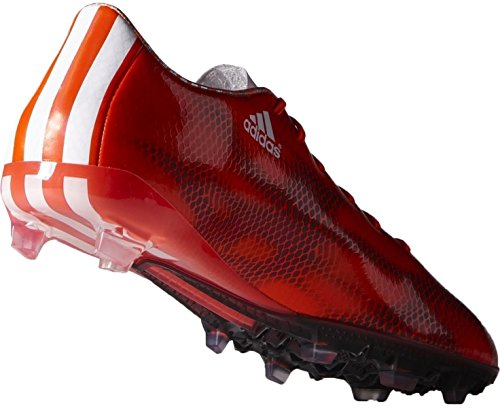 adidas F30 FG, Scarpe da Calcio Uomo solar red- ftwr white- core black