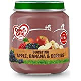 Vache Et Porte Étape 1 Pot Pomme, Banane Et Baies 125G - Paquet de 4