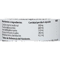 H4U - H4U Carbón Activado 90 cápsulas de 550 mg