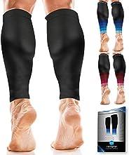 Calf Compression Sleeves for Men & Women - Shin Splint and Calf Support Brace - Compression Calf Guards -