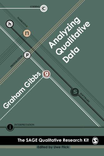 Analysing Qualitative Data (Qualitative Research Kit) by Graham Gibbs (2008-04-01)