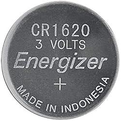Energizer Battery CR1620 Lithium 1-pak, 235329