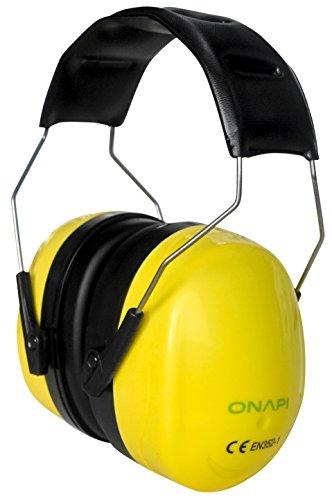 Gehörschutz, Größe stufenlos verstellbar, geeignet für jede Altersklasse, extra weiche Polster, große Ohrcups, ideal für handwerkliche Arbeiten, zum Lernen bei lauter Umgebung und vielem mehr - 2