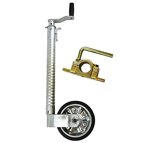 AB Tools 48mm Rueda Jockey estriada para Remolque con Abrazadera fundida 48mm_Costilla_TR021