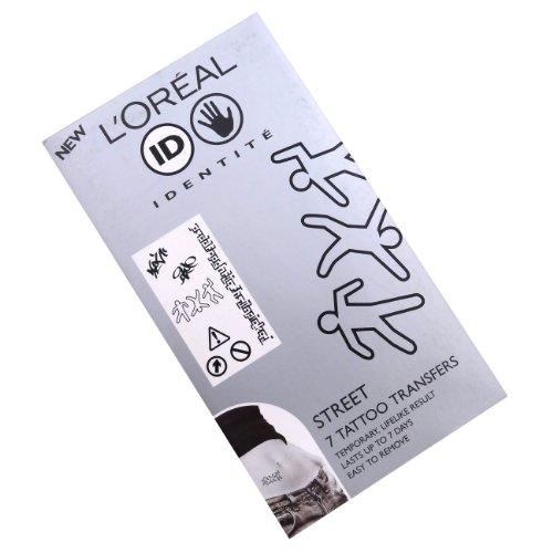 L'Oréal Street Kit de tatouages transferts