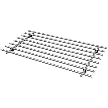 1 X Ikea L 196 Mplig Kitchen Trivet Stainless Steel Amazon