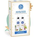 The Moms Co. Protein Detox Kit - Protein Shampoo (200 ml) + Protein Conditioner, 200 ml