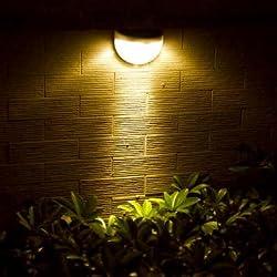Atoz prime Waterproof IP55 LED Solar Lamp Power Garden LED Solar Light Outdoor Wall Solar Power Lamp For Garden