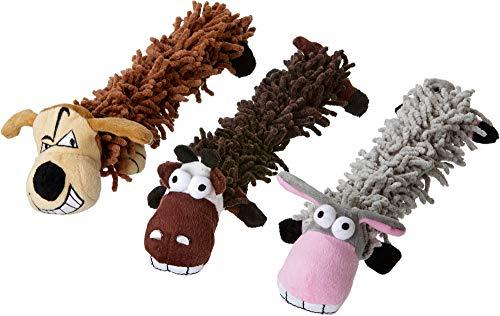 Karlie Flamingo 47820 Hundespielzeug Hund, Esel oder Kuh Sortiert, 33 cm