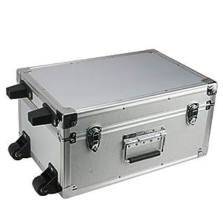 Aluminium Flight Case Tool Box With Trolley 440X300X220mm