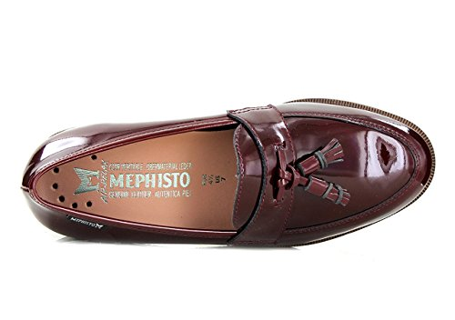 MEPHISTO PIERA - Mocassins / Slippers - Femme Wine