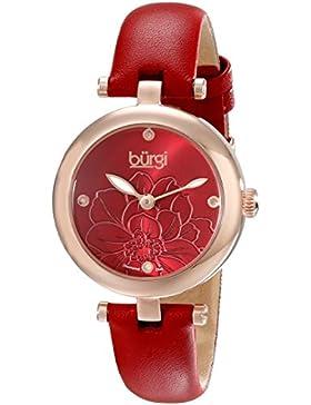 Burgi Damen--Armbanduhr Woman Analog Quarz BUR128RD