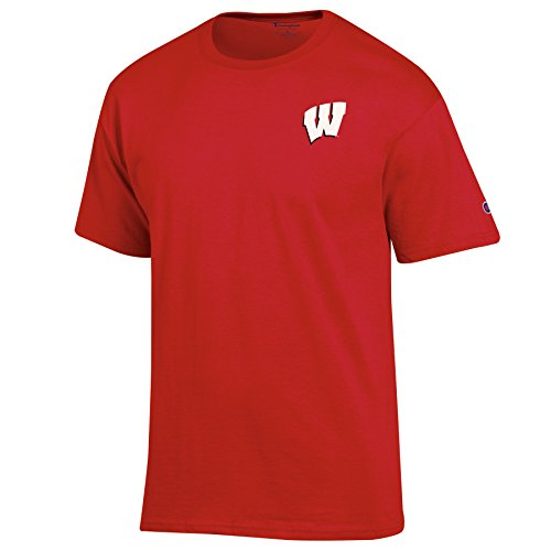 Champion NCAA Herren Pride Graphic Short Sleeve Tee, Herren, scharlachrot, Medium -