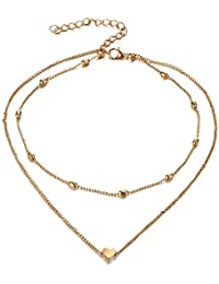 Jewels Galaxy Brass and Necklace for Women & Girls