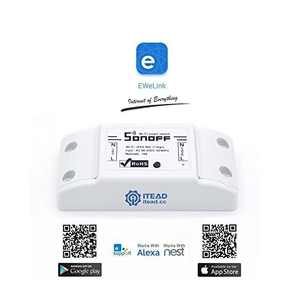Sonoff RF Brücke 433, die 433 MHz RF Fernbedienung in Wifi Wireless  Fernbedienung für SmartHome Automat, Garagentor Schalter, Home Security  System