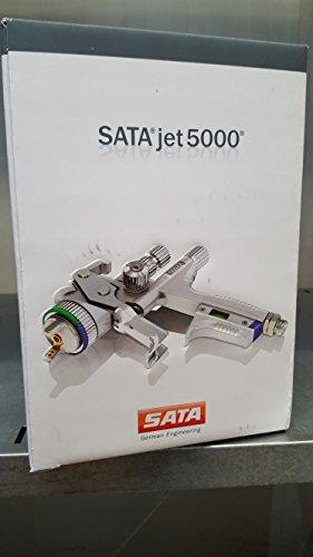 Preisvergleich Produktbild Sata Lackierpistole SATAjet 5000 B HVLP Düse 1,2 0,6 l QCC Kunststoff-Mehrwegbecher, Drehgelenk