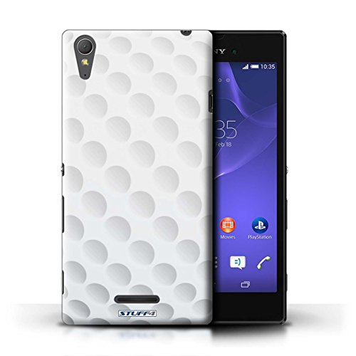 Kobalt® Imprimé Etui / Coque pour Sony Xperia T3 / Base-ball conception / Série Balle Sportif Golf
