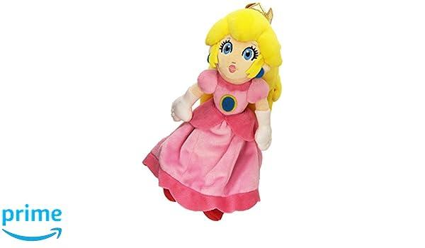 Nintendo 3700789290056 Princess Peach Plush Toy Amazon Co