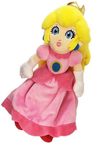 Namco Bandai - Peluche Nintendo Princess Peach de 23 Cm, Plush