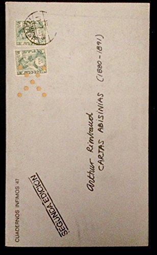 Cartas abisinias (Cuadernos Infimos) por Arthur Rimbaud