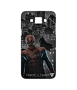 Vogueshell Spiderman VS Batman Printed Symmetry PRO Series Hard Back Case for Samsung Galaxy Grand Max