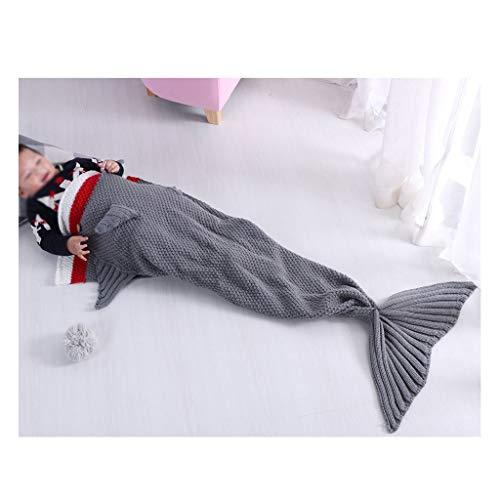 WARMTH IN THE DISTANCE Manta, pequeña Forma de tiburón línea Sirena Manta Manta Manta Hijos...