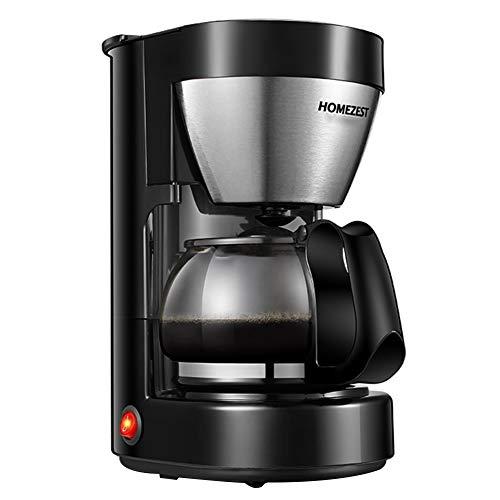 xMxDESiZ Kaffeemaschine Teezubereiter 650ml Household Drip Coffee Pot Glass Kettle Expresso Tea...