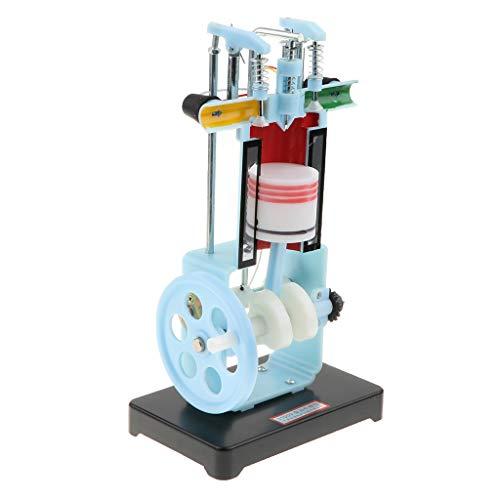 Homyl 4-Takt Benzin Diesel Motor Modell Physikalisches Pädagogisches Spielzeug -