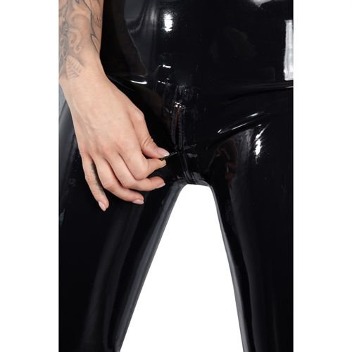 Latex Late X Leggings RV schwarz