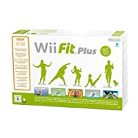 Wii Fit Plus + Balance Board by Nintendo