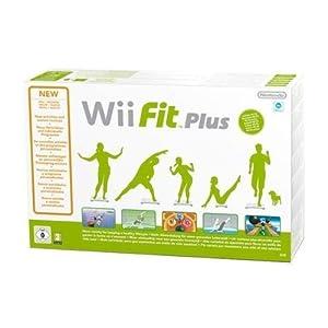 Wii Fit Plus + Balance Board by Nintendo