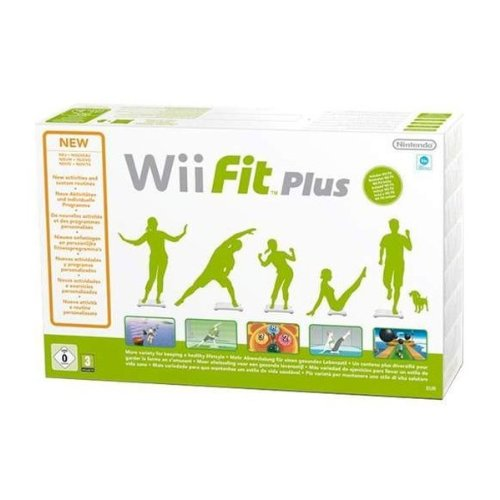 Nintendo Fit Plus + Balance Board (Wii)