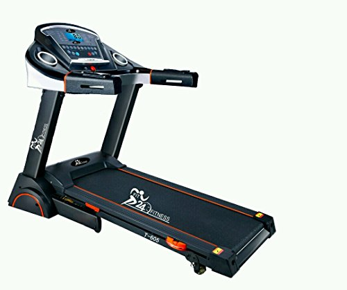 Fit24 Fitness Treadmill with Auto Lubrication system