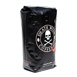 Death Wish Ground Coffee, The World's Strongest Coffee, Fair Trade and USDA Certified Organic