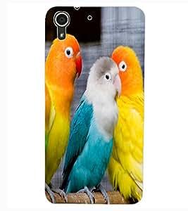 ColourCraft Love Hearts Design Back Case Cover for HTC DESIRE 626